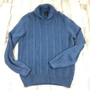 JoS. A Bank blue sweater size large
